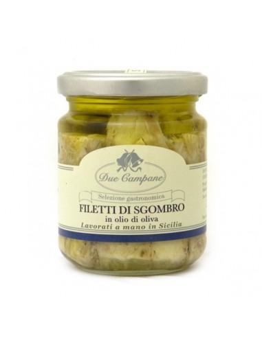 Filetti di sgombro in olio di oliva