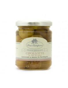 Cipollotte in olio di oliva