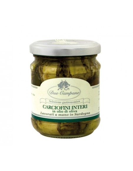 Carciofini interi in olio di oliva