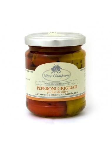 Peperoni grigliati in olio di oliva