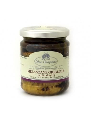 Melanzane grigliate in olio di oliva